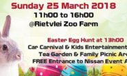 Nissan Easter Treasure Hunt, Family Picnic & Car Carnival