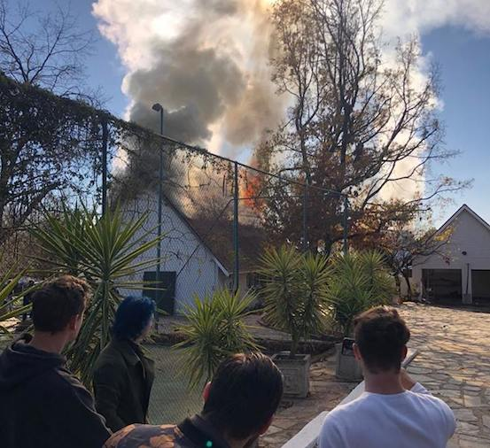 Bryanston Fire