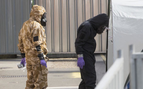 British woman dies after exposure to Novichok nerve agent