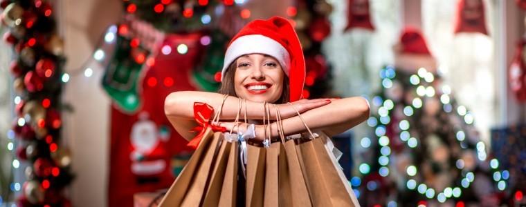 Christmas Shopping Image