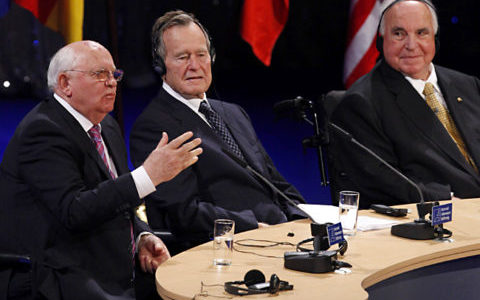 Washington sets aside divisions as US bids farewell to Bush