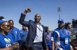 DA strategy unravels – IRR's Cronjé