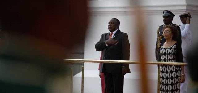 A disruptive affair: Cyril Ramaphosa's SONA in full